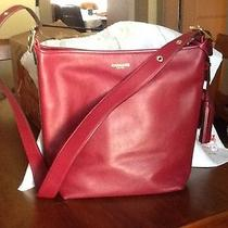 Coach Legacy Bucket Hobo Bag New From Macy's Deep Port Photo