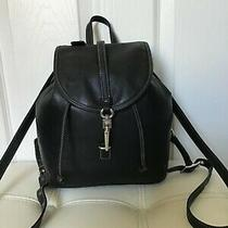 Coach Legacy Studio Black Leather Backpack True Vintage in Good Condition Look  Photo