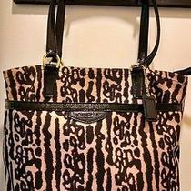 Coach Leopard Print Tote Bag Photo
