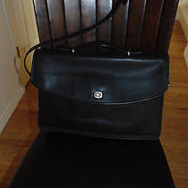 Coach Lexington Business Briefcase Laptop Travel Attache Messenger Bag 5265 Euc Photo