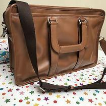 Coach Lexington Leather Embassy Brief F70662- Authentic  Photo