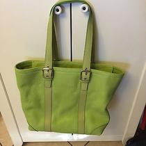 Coach Lime Green Handbag Photo