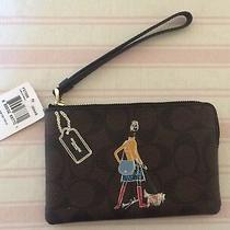 Coach Limited Edition Bonnie Cashin Corner Zip Wristlet Photo