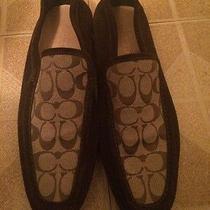 Coach Loafers Size 12 Ferrogamo Gucci Louis Prada Fendi Versace  Photo