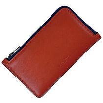 Coach Logo Coin Purse Card Case Id Case Pass Case Coin Purse Leather Red 763... Photo