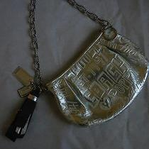 Coach Ltd Ed Poppy Silver Etched Storypatch Small Shoulder Handbag Purse Rare Photo