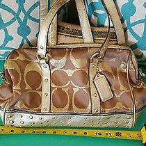 Coach Luxury Collection Purse W Extended Strap  Photo