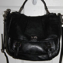 Coach Madison Annabelle 21223 Black/silver Photo