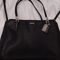 Coach Madison Christie Handbag Black Item 29422 Photo