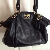 Coach Madison Leather Sophia Satchel 18609  Photo