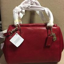Coach Madison Mini Leather Satchel 49720 Photo