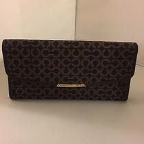 Coach Madison Op Art Slim Wallet 49611 Nwt Photo