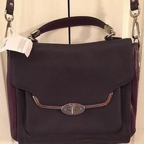 Coach Madison Small Sadie Flap Saffiano Satchel - Siver Violet F26274 Nwt Photo