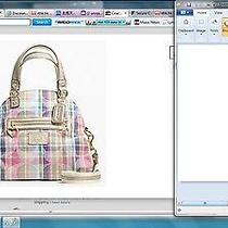 Coach Madres Foldover Satchel Tote Purse Handbag F23541 Photo