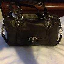 Coach Mahogany Brown Leather Campbell Satchel Bag F24690 Nwt Photo