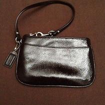 Coach Mahogany Wristlet Photo