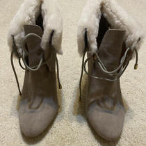 Coach Malia Size 9 Suede and Shearling Ankle Bootie Photo