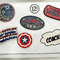 Coach Marvel Messenger Bag With  Wallet & Spiderman Charm Photo