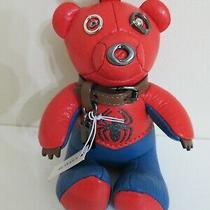 Coach Marvel Spider Man Collectible Bear Bag Charm Key Chain Ring 2751 New Photo