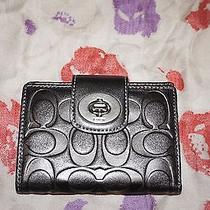Coach Medium Embossed Leather Wallet Photo