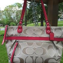 Coach Medium Tote/handbag - Euc Photo