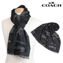 Coach Men Camo Scarf Photo