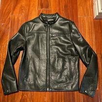 Coach Men Racer Leather Jacket  Size Xs 100% Authentic Photo