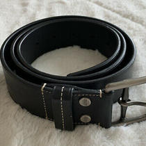 Coach Men's Belt Black Size 38 Free Shipping Photo