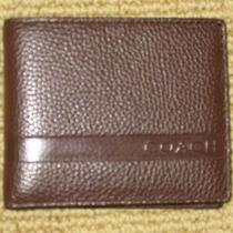 Coach Men's Brown Wallet Photo