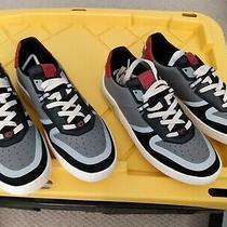 Coach Men's Colorblocked Tech Low Sneakers Sz 85   10 Photo