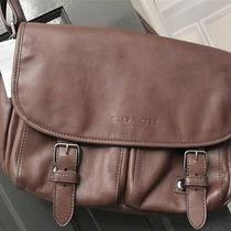 Coach Men's Gm/mahogany Sport Messenger Bag 71477 Photo