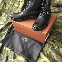 Coach Mens Boots  Bryant Wing Never Worn Size 10 D. Original Price 500. Photo