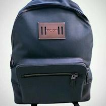 Coach Mens (F27609) Cordura West Nylon Racing Green Backpack Bag Photo