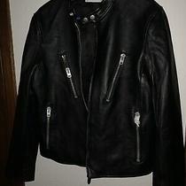 Coach Mens Leather Jacket Photo