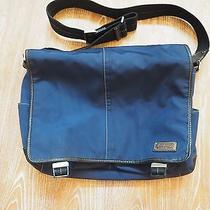 Coach Mens Messenger in Nylon Blue Photo
