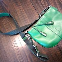 Coach Messenger/ Cross Body - Emerald Green Adjustable So Hot Photo
