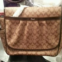 Coach Messenger/ Diaper Bag Nwt Photo