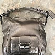 Coach Metallic Shoulder Bag Photo