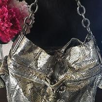 Coach Metallic Snakeskin Bag Photo