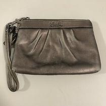 Coach Metallic Wristlet Wallet Photo