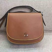 Coach Mickey Disney Saddle Bag 23 Glovetanned Leather Please Read Photo