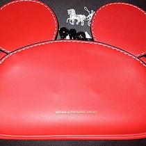 Coach Mickey Kisslock Wristlet Handbag in Smooth Leather Photo