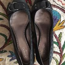 Coach Millie Size 9.5 Wedge Very Good Used Condition Photo