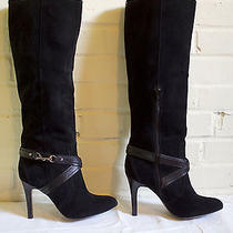 Coach Milly Suede Leather Boots 8.5 Photo