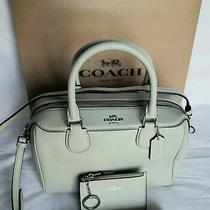 Coach Mini Bennett Satchel With Mini Id Case Nwt Photo