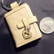 Coach Mini Keychain Wallet Photo