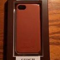 Coach  Molded Iphone 5 Case Camel 50% Off Retail 58 Photo