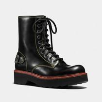 Coach Moto Hiker Boot Box Calf Size 10 Photo