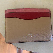Coach Multi Color Card Case Photo