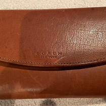 Coach Multi Compact Clutch Tan Nwt Photo